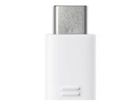 Samsung EE-GN930 - Adaptateur USB - Micro-USB Type B à 5 broches (F) pour USB de type C (M) - blanc EE-GN930BWEGWW