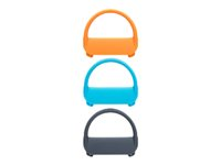 Wacom Bamboo Spark Closure Bands - Bande de fermeture - gris, bleu, orange (pack de 3) ACK41509